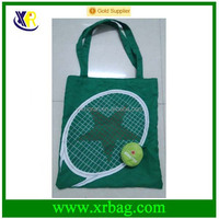 fashion eco green cotton tote shopping bag