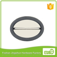 Hot selling two pin shoe buckle with low price