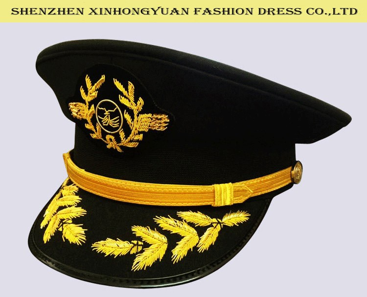 ... quality Indian embroidery uniform hat military uniform cap for sale