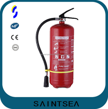9kg portable dry powder ABC fire extinguisher with NF approved