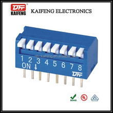 2-12 position electrical piano switches with 2.54mm pitch,