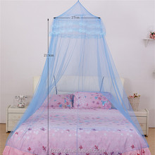 supplier of nets decorative bed nets stainless steel hanging dome circular mosquito net for round canopy bed