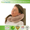 2015 Colourful removable cover portable U shape travel neck pillow