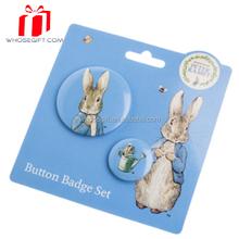 High reflectivity promotional badges customized