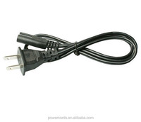 US 2-Prong Port AC Power Cord Cable For Sony PS2 PS3 Slim 5Ft Edition New