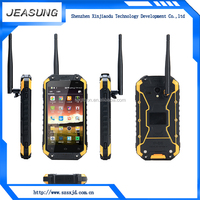 4.7 inch android phone waterproof dustproof dual sim walkie talkie smart phone