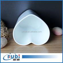 100% melamine heart shape cup