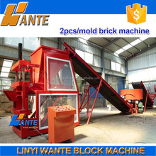 Low investment WT1-10 soil hydraulic clay brick machine,interlocking brick manufacturing machine