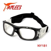 Panlees wholesale silicon nose soccer basketball dribbling safey frame soccer ball glass lenses onion eye glasses goggle goggles