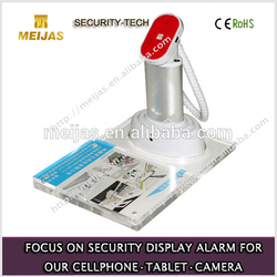 Mobile phone display holder with price tag