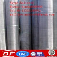 Ornamental Metal Aluminum Silk Screen Screens/Aluminum Alloy Wire Netting/Wire Mesh India SS finished