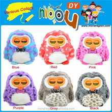 2014 Best sale Hibou smart language talking toy with EMC, RoHS certificated