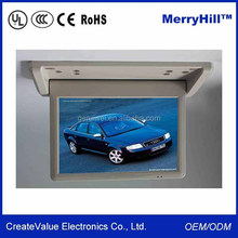 """Ceiling Mount LCD Advertising Video Screen 10"""" 12"""" 15"""" 17"""" 19"""" 22"""" inch Car Bus Roof Mount TV"""