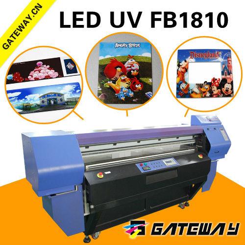 L'impression presses en chine utilisé uv à plat imprimante numérique 3d imprimante machine cmjn + 4 w encre numérique machine d'impression couleur