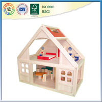 Prefabricated wood frame house favorite play house baby room