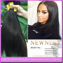 Large Stock 6A 100% Straight Natural color brazilian hair best virgin hair vendors