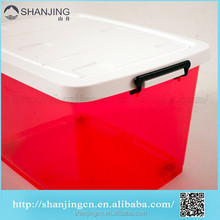 42L Solid Box Style and Yes Foldable Plastic box with attached lid