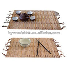 Promotional Home Supply Fashion Green Bamboo Table Mat