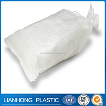 Agriculture use polypropylene flour sack, food grade 25kg bag dimension, UV treated 25kg packing bag