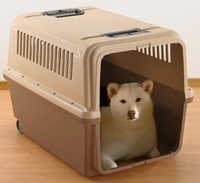 Competitive price wheels portable pet cage