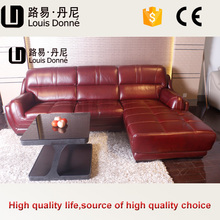 European style hotel use brand of leather sofa in malaysia