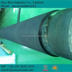 rubber coated pipe made in Tianjin China