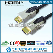 1.5M HDMI Cable Gold Plated Double Color with Ethernet