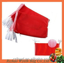 plastic hdpe knitted agriculture packing net bags