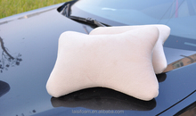 100% polyester bone pillow for embroidery dog bone shaped pillow LS-B-005-A car pillow bone shaped