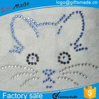 iron on transfers wholesale animal design wildcats pawprint