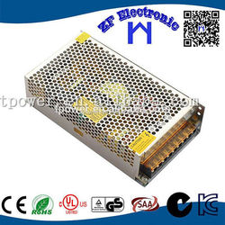2-year Warranty AC DC Power Supply CE ROHS approved DC Output metal case 12v 12.5a led lighting driver