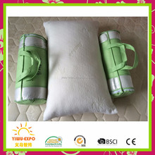 Shredded Memory Foam Pillow - King - Original Bamboo - Neck, Back and Body Pain Relief - Hotel Luxury Sleep - Contour Side Sleep