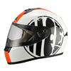 2015 JIX - FF006 casco motorbike accessories ABS material with DOT ECE casco motorbike street helmets