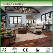 Class B1 Solid wood fireproof floor covering for Senior Client