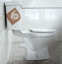 Bathroom two-piece Africa promotional factory price Ethiopia toilet
