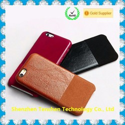 For iphone 6 leather case genuine wholesale cowhide leather case for iPhone
