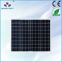 high efficiency 60w buy solar cells solar panel with A grade solar cell TYP60
