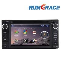Wince 6.0 double din car radio for toyota land cruiser/prado car dvd player accessories