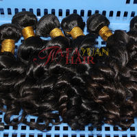 Reliable hair supplies in Guangzhou factory price very cheap wavy Brazilian hair accept paypal
