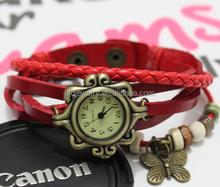 wholesale custom charm rope watch bracelet for girls