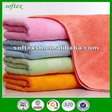 bamboo fabric plain wholesale terry towel baths cheap price