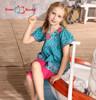 2015summer girls dress casual sleeveless dresses kids cloth