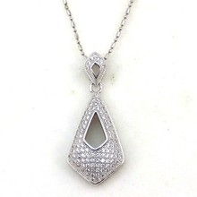 Wholesale 925 sterling silver small zircon fashion and good price pendant