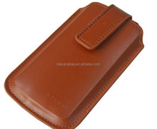 mobile phone protect bag for iphone ,pu leather cell phone bag,fashion wholesale waterproof case