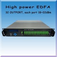 High power 1550nm JDSU edfa/fiber optical amplifier 22dB