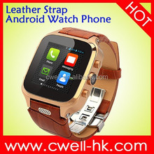 Smart W9 1.54 inch IPS screen MTK6572 dual core 3G cell phone watch Android