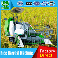 Chinese Factory Harvester Combine Wheat Harvester Machine Cheap Paddy Harvester Crawler 4LZ-3.2S
