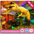 animación escultura dinosaurio