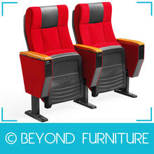 2014 Hot Sale Theater Chair Cinema Chair Auditorium Chair in Fabric