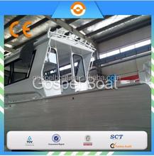 8M Leisure Passenger Aluminum Fishing boat for sale/boat engine